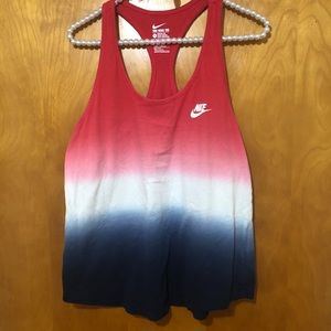 Nike | Red White and Blue Tank